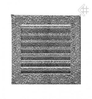 Kratka kominkowa 17x17 FRESH  czarno-srebrna