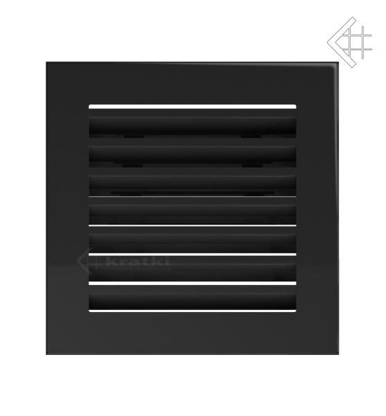 Kratka kominkowa 17x17 FRESH czarna