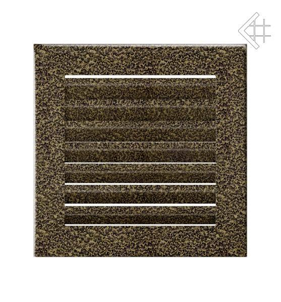 Kratka kominkowa 17x17 FRESH  czarno-złota
