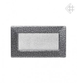 Kratka 11x17 czarno-srebrna