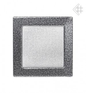Kratka 17x17 czarno-srebrna