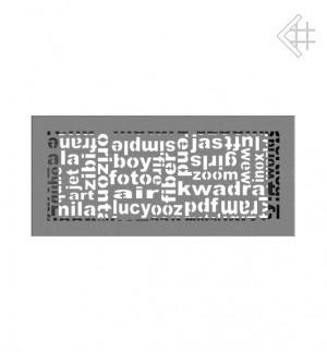 Kratka kominkowa 17x37 ABC granito