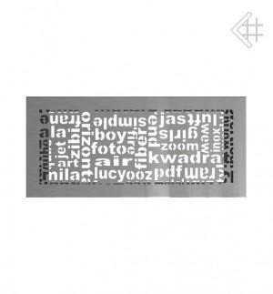 Kratka kominkowa 17x37 ABC szlifowana