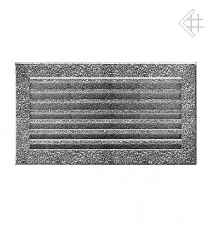 Kratka kominkowa 17x30 FRESH  czarno-srebrna