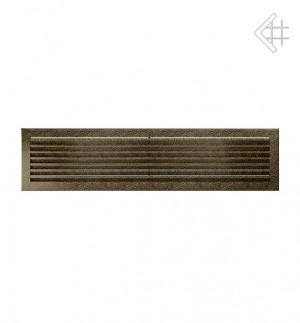 Kratka kominkowa 17x70 FRESH  czarno-złota